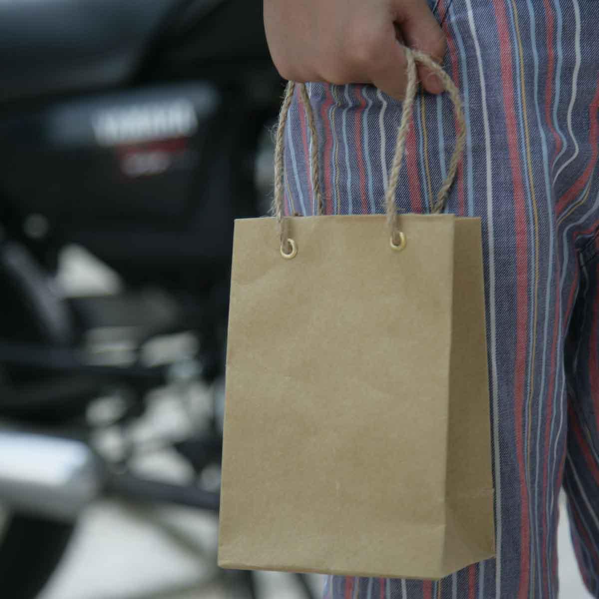 Túi giấy Kraft nhỏ