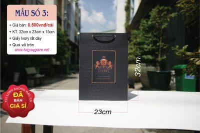 Túi giấy đựng rượu ngoại nhập