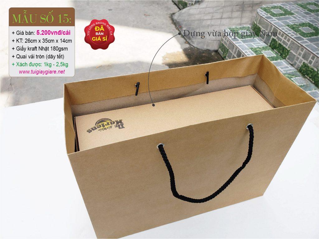 Túi giấy đựng hộp giày Nam