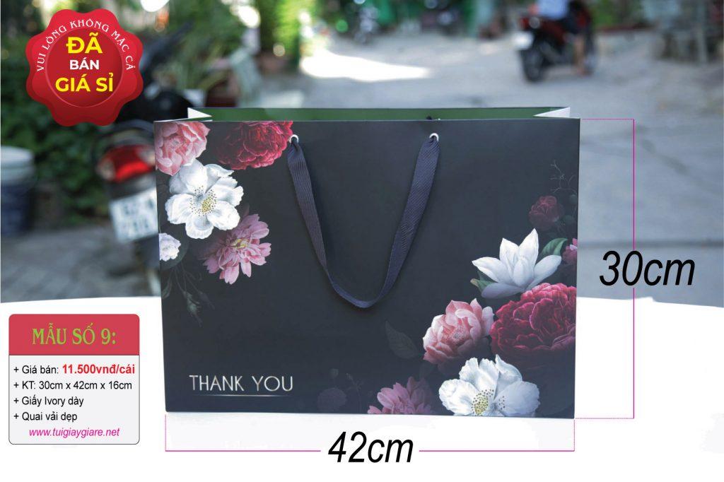 Túi giấy ngang size XL