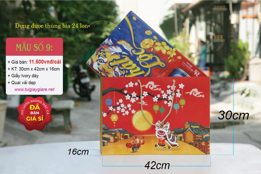Túi đựng quà tết size XL