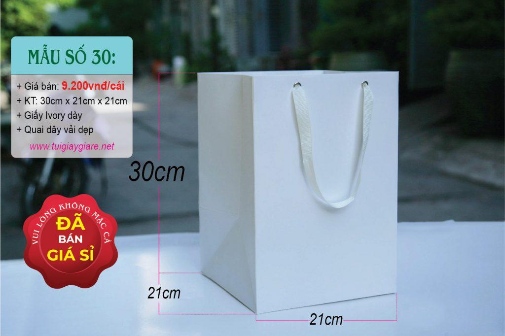 Túi đáy vuông size XL