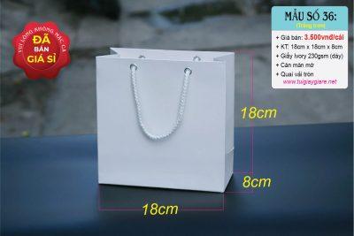 Túi giấy 18cm x 18cm x 8cm