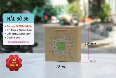 Túi giấy kraft nâu