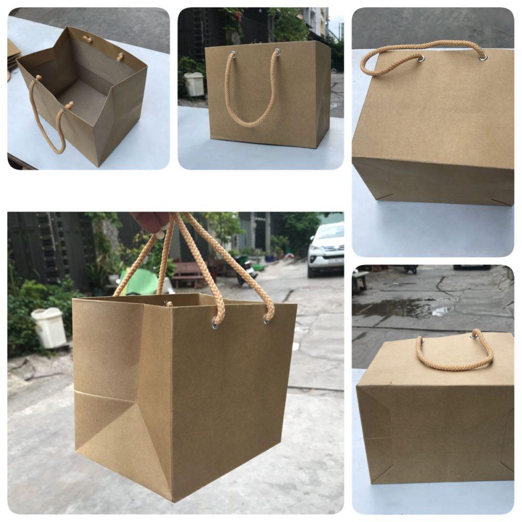 Food kraft paper bags