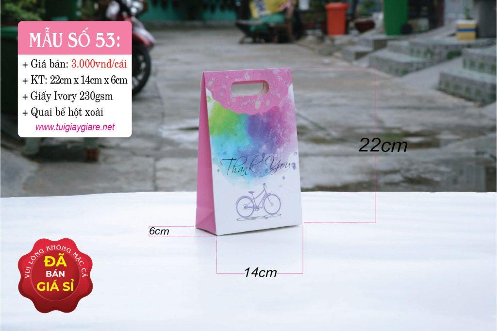 Túi giấy đựng quà tặng mỹ phẩm